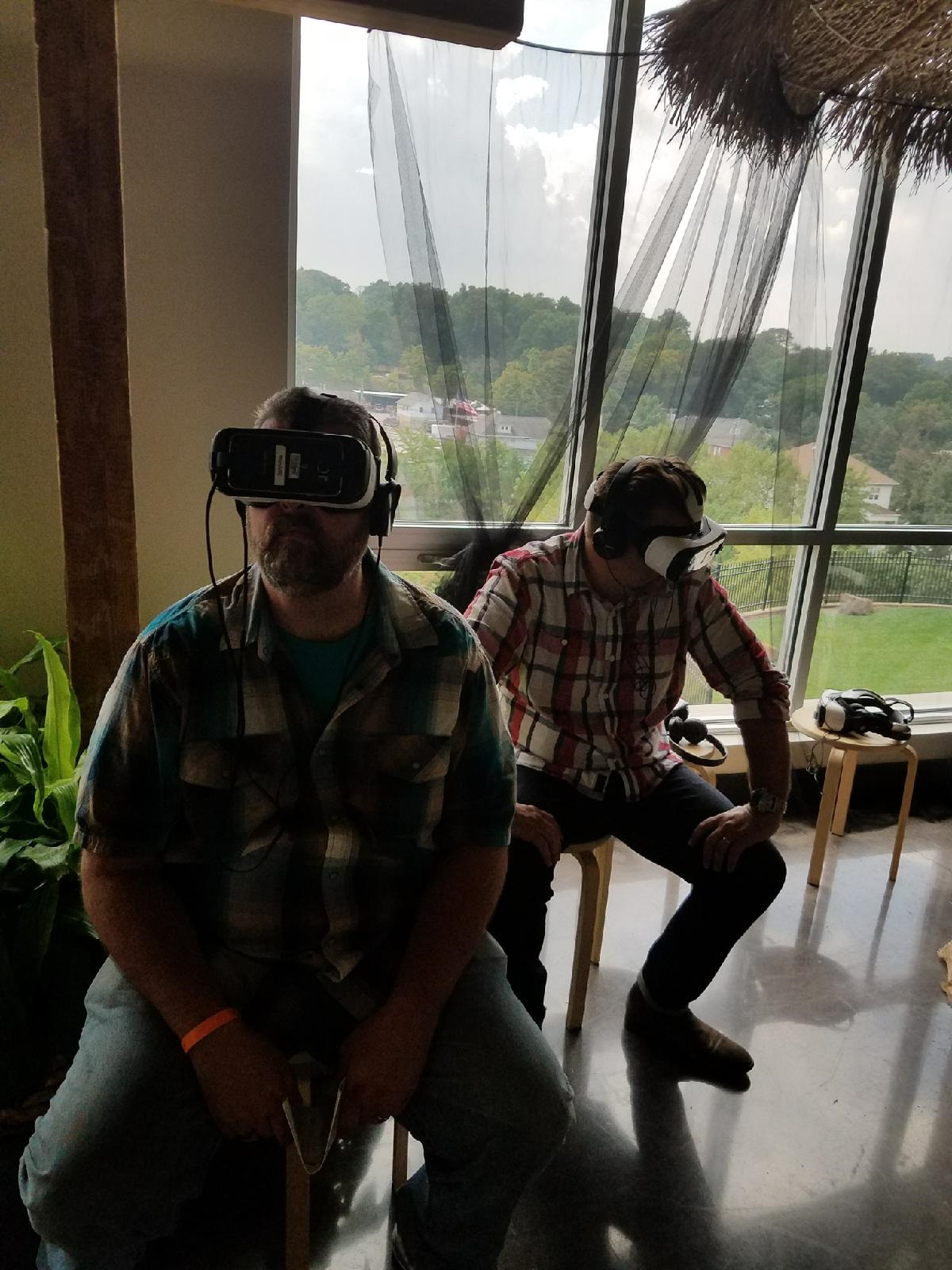 me and tim lucas virtual reality